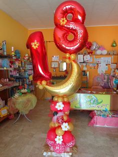 1000 images about numbers balloon board on pinterest for Number 4 decorations