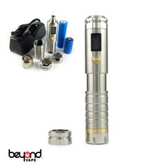 Beyond Vape is proud to introduce a beautifully designed variable voltage / variable wattage device for the industry! What sets these apart from other similar device is the build quality, innovation, and design. It is proudly designed and engineered in the USA.