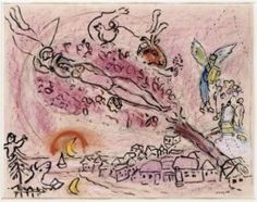 Chagalls vision on the song of songs.