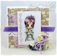 Design by Jenny: Lilac at the Ribbon Girls