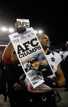 Baltimore Ravens AFC Champs