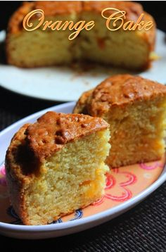 YUMMY TUMMY: Eggless Fresh Orange Cake Recipe / Orange Yogurt Cake Recipe