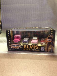 Original Elvis Presley Favorite Cars Collection