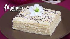 Beyaz Pasta Tarifi | Kadınca Tarifler | Kolay ve Nefis Yemek Tarifleri Sitesi - Oktay Usta