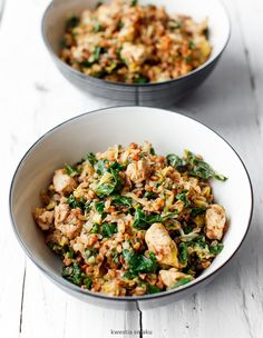 Clean Recipes, Healthy Dinner Recipes, Diet Recipes, Chicken Recipes, Cooking Recipes, Healthy Nutrition, Healthy Eating, Tasty Dishes, Food Inspiration