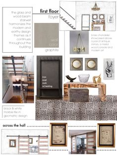 Nice Office #5 Design Collage | Parsons Interior Design Application | Pinterest