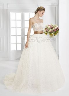 Vestido de novia Patricia Avendaño colección 2016 modelo 2650 en Eva Novias Madrid