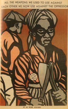 'The Art of the Black Panthers': Revolutionary designer Emory Douglas | Dangerous Minds