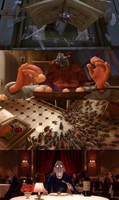 Oscars in Frames! Ratatouille, 2007 (dir. Brad Bird) [Best Animated Feature, 2008]