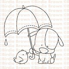 น้องหมาถือร่ม