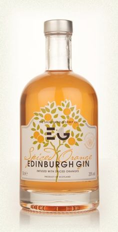 Edinburgh Spiced Orange Gin PD - wonder if this taste like liquid marmalade?
