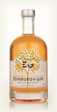 Edinburgh Spiced Orange Gin PD - wonder if this taste like liquid marmalade?