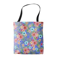 Bageecha Tote Bag - floral style flower flowers stylish diy personalize