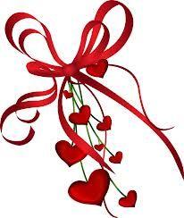 Hearts and bows