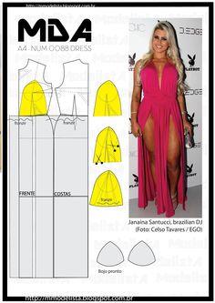 ModelistA: A4 NUM 0088 DRESS