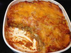 Yum... I'd Pinch That! | Oh So Good Chicken Enchilada Bake