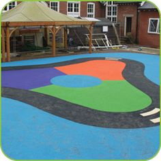 Playground Markings and Surfaces installers http://www.softsurfaces.co.uk/