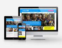 ReDesign unicef.ch Web Design, User Interface Design, User Experience, Concept, Website Designs, Site Design, Interface Design, Ux Design