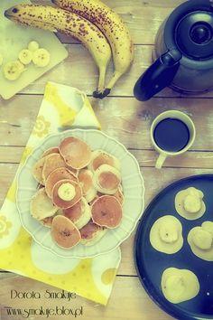 Placki z bananami Cooking Time, Mango, Healthy Eating, Breakfast, Food, Essen, Manga, Eating Healthy, Morning Coffee