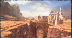 desert concept art - Google Search
