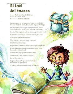 Hola duendecill@s  hoy mi entrada trata sobre cuentos cortos que tienen mucha esencia para relat... Spanish Lessons, Spanish Class, Teaching Spanish, Teaching Reading, Education English, Kids Education, Poetry For Kids, 2nd Grade Reading, Preschool Lessons