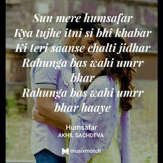 Humsafar - BadriNath Ki Dulhania