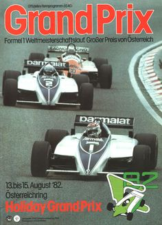 370GP - XX Grosser Preis von Osterreich 1982
