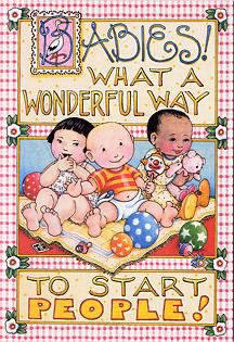 BABY SHOWER~Babies by Mary Engelbreit