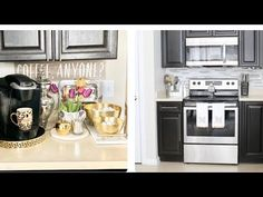 2020 KITCHEN TOUR! (KITCHEN DECORATING IDEAS) - YouTube