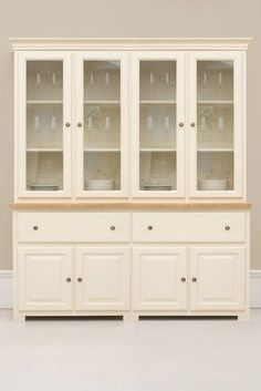Is The Largest Dresser In Studio Collection And Preferred Option For Those With Ger Kitchens Who Have Many Items To Display