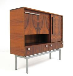 AreaNeo | A Rosewood Bar / Sideboard of the 50/60th - Lauritz.com | Düsseldorf - unknown - unknown - Bar / Sideboard Mid Century Modern Furniture, Contemporary Furniture, Danish Modern, Mid-century Modern, Bar Cabinets, Vintage Storage, Kitchen Nook, Nooks, Sideboard