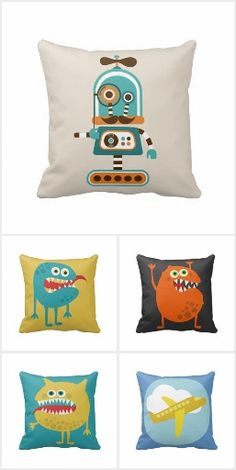 Kids Boys Pillows