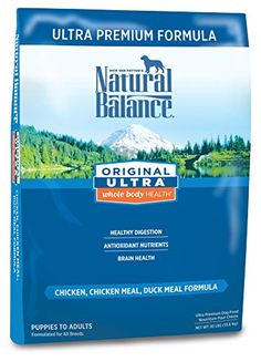 Natural Balance Original Ultra Whole Body Health Chicken Chicken Meal Duck Meal Formula Dry Dog Food 30Pound ** More info could be found at the image url.Note:It is affiliate link to Amazon.