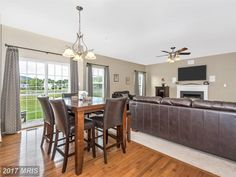 Table, Home, Open Floor, Flooring, Furniture, Property, Beautiful Homes, Floor Plans, Coldwell Banker Real Estate