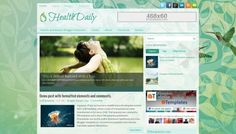 HealthDaily Free Blogger Template - http://btemplates.com/10770
