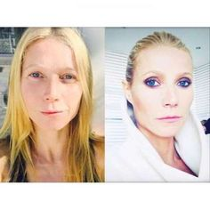 Gwyneth Paltrow before and after- Provided by Hello Magazine UK