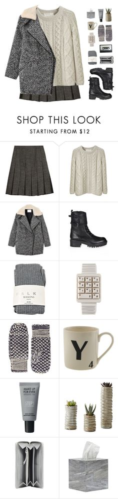 """ Don't you ever tame your demons, but always keep 'em on a leash. "" by centurythe ❤ liked on Polyvore featuring Marni, La Garçonne Moderne, Retrò, RED Valentino, Falke, Dorothy Perkins, MAKE UP FOR EVER, Balenciaga and Pigeon & Poodle"