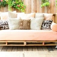 Furniture | Prudent Baby: DIY pallet daybed with instructions