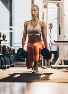 Strong and Lean With the 55 Best Dumbbell Moves (Plus 20 Videos Using Them!) Get Strong and Lean With the 55 Best Dumbbell Moves (Plus 20 Videos Using Them!)Get Strong and Lean With the 55 Best Dumbbell Moves (Plus 20 Videos Using Them! Full Body Workouts, At Home Workouts, Ab Workouts, Swimming Workouts, Photos Fitness, Gym Photos, Fitness Motivation, Fitness Goals, Fitness Challenges
