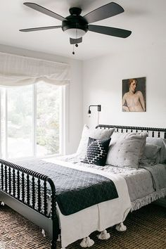 guest bedroom decor inspiration. / sfgirlbybay
