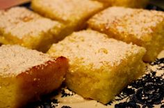Sweet Tea and Cornbread: Two Ingredient Lemon Bars!