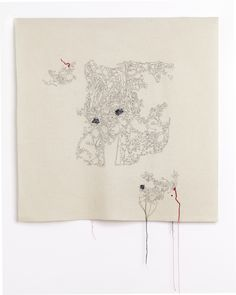 Caroline Bartlett Surrogate ll, 2010, 72 x76 cm Great article on Caroline's intentions and process at the textile artist http://www.textileartist.org/caroline-bartlett-embroidering-truth/
