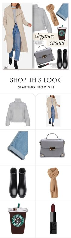 """""""+"""" by paculi ❤ liked on Polyvore featuring NARS Cosmetics, cozychic, yoins, yoinscollection and loveyoins"""
