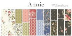 These swatch book inspired prints come from Annie Hayslip, by the Colonial Williamsburg collections. Annie kept a book of over 3000 fabric samples. Her album held reminders of 19th century wardrobe, mementos of family, friends, and events, much like a modern-day scrapbook. #Annie #WindhamFabrics #ColonialWilliamsburg Wheat Flower, Windham Fabrics, Colonial Williamsburg, Fabric Samples, Wall Colors, Annie, 19th Century, Swatch, Free Pattern