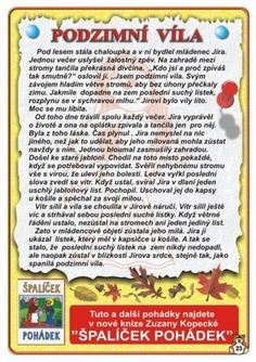 Autumn Activities For Kids, Kids And Parenting, Art For Kids, Fairy Tales, Homeschool, Education, Literatura, Pictures, Manualidades