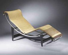 Chaise Longue Model No. B306, 1928  Chromed bent tubular steel, leather  Design: Le Corbusier, Pierre Jeanneret,  Charlotte Perriand