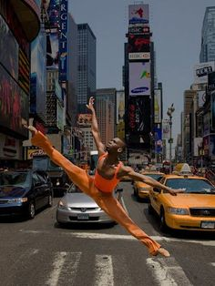 NYC. Urban flyer //  by Richard Calmes