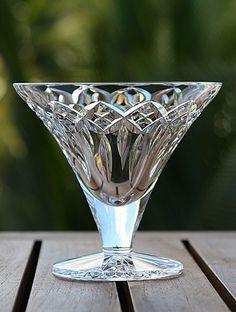 Waterford Quinn Lane Bowl and Vase Crystal Wine Glasses, Crystal Glassware, Antique Glassware, Crystal Vase, Cut Glass, Glass Art, Waterford Crystal, Crystal Meanings, In Vino Veritas
