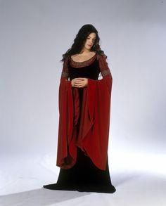Arwen - Black & Red Dress