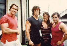 Arnold Schwarzenegger | Sylvester Stallone etc